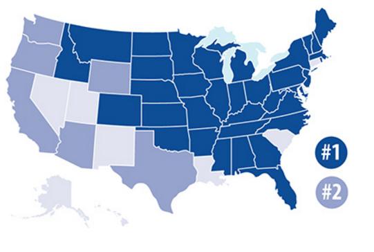 美国35个州的第一大出口目的地为加拿大
